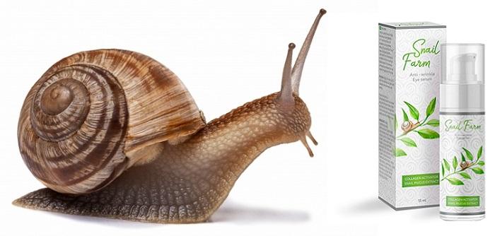 Snail Farm od zmarszczek: śluz czarnego ślimaka z efektem botoksu!