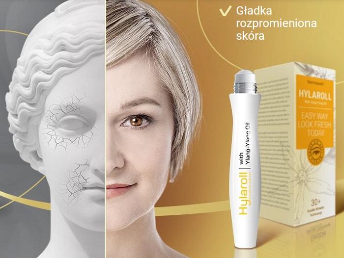 Hylaroll od zmarszczek: zel przeciwstarzeniowy do odmładzania twarzy wygładzi głębokie zmarszczki na twarzy przez 21 dni!