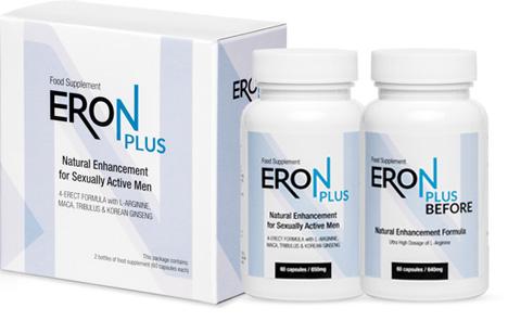 Eron Plus: usuwa przyczyny problemów z erekcją