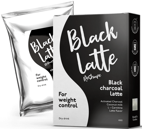 Black Latte: węglowe latte dla łakomczuchów, którzy pragną schudnąć