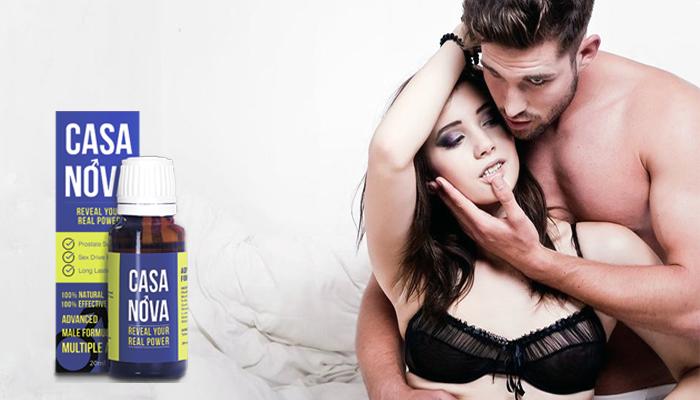 Casa Nova: wyjątkowo naturalny stymulator aktywności seksualnej i polepszenia potencji