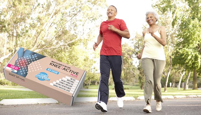 Knee Active Plus: stabilizator kolana z technologią pola magnetycznego