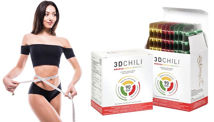3D Chili odchudzanie: usuń zbędny tłuszcz!