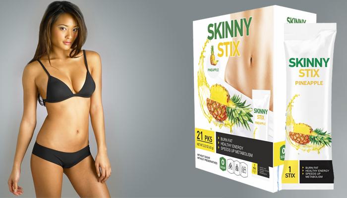Skinny Stix: innowacyjnym 100-procentowo naturalnym środkiem na odchudzanie