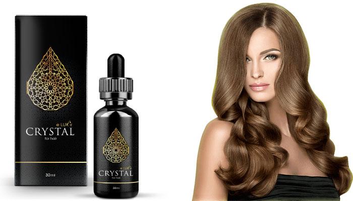 CRYSTAL ELUXIR: zatrzymuje wypadanie włosów i stymuluje wzrost nowych włosów!