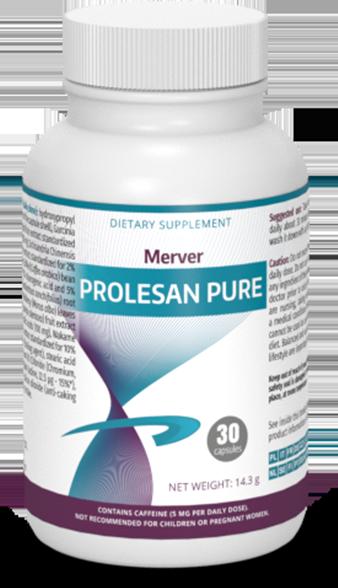Prolesan Pure odchudzanie: spalacz tłuszczu stworzony przez dietetyków