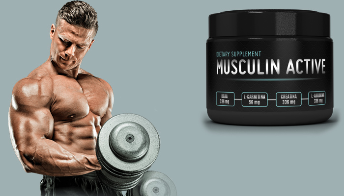 Musculin Active: zdobędziesz 10 kg mięśni w miesiąc!