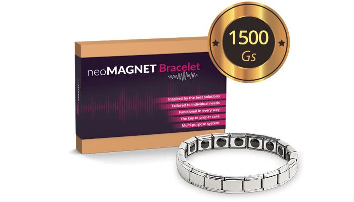 Neomagnet Bracelet: uśmierzysz ból w 7 minut, a za 28 dni zlikwidujesz go na zawsze