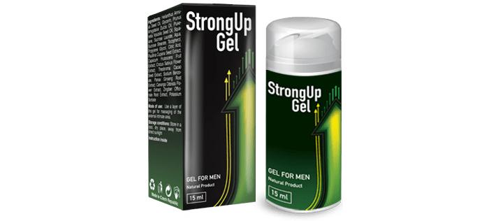 StrongUp Gel na potencję: bądź najlepszy w seksie