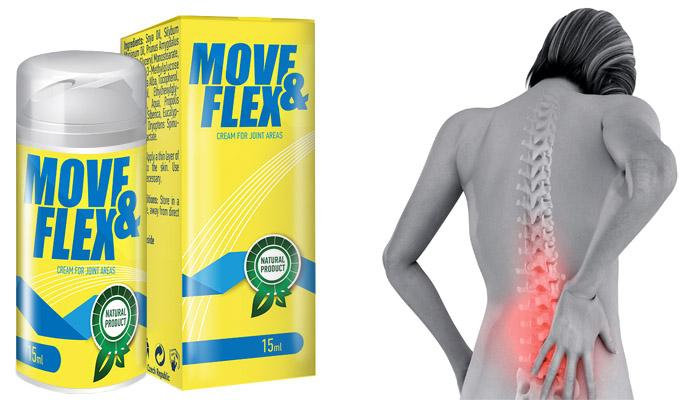 Move&Flex dla stawów: skuteczny środek w walce z osteochondrozą, artrozą!