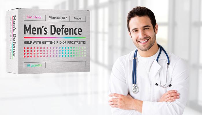 Men's Defence: profesjonalny środek na zapalenie gruczołu krokowego