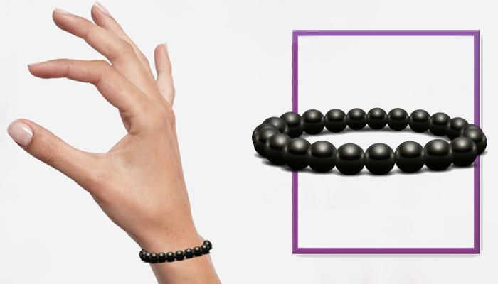 Bracelet Bianchi: bransoletka z czarnego schungite dla twojej długowieczności!