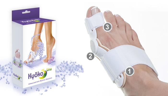 Kyoko: odzyskasz piękne i zadbane stopy, trwale pozbędziesz się uporczywego bólu i haluksów (krzywych paluchów) w 1 miesiąc!