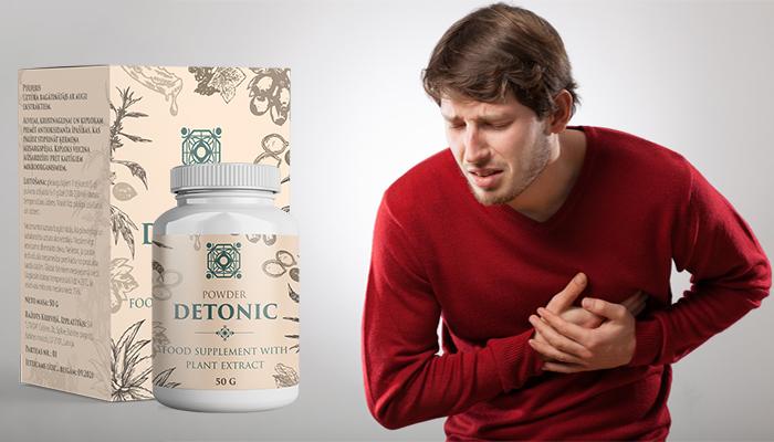 Detonic przeciw nadciśnieniu: ciśnienie znormalizowane po pierwszym użyciu
