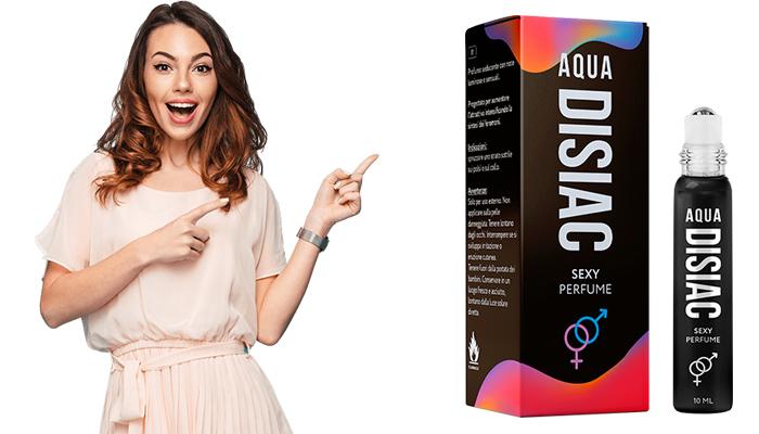 Aqua Disiac perfumy na bazie feromonów: obudź pasję