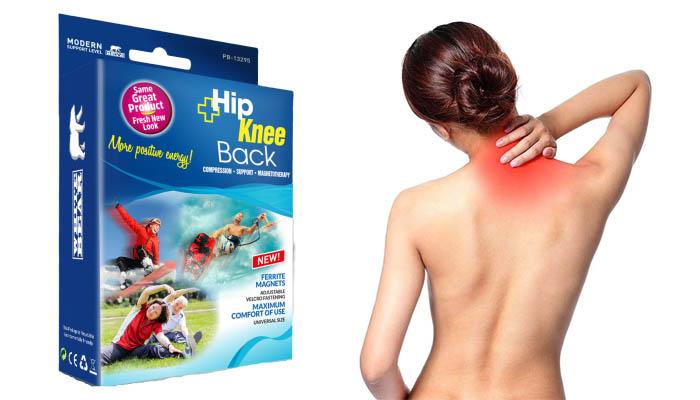 Hip&Knee Magnetic Belt do stawów: w 100% bezpieczna metoda na walkę z bólem pleców!