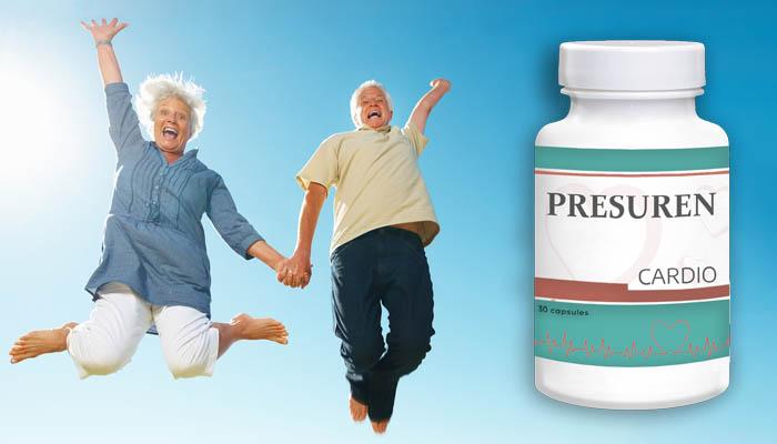 Presuren przeciw nadciśnieniu: ciśnienie znormalizowane po pierwszym użyciu