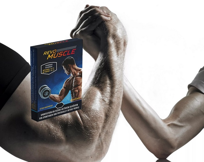 REVOMUSCLE  do budowy mięśni: szybki i efektywny wynik!