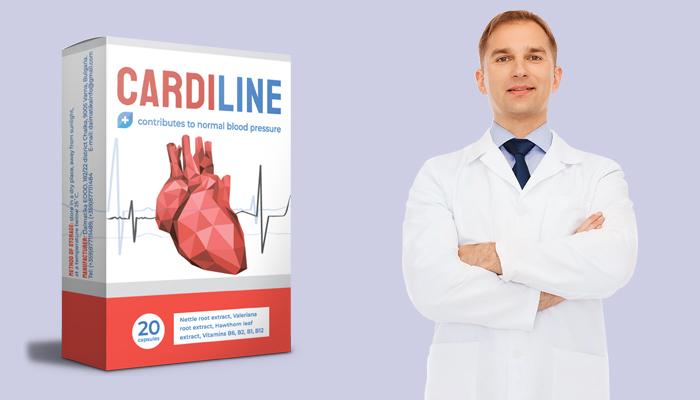 Cardiline przeciw nadciśnieniu: ciśnienie znormalizowane po pierwszym użyciu