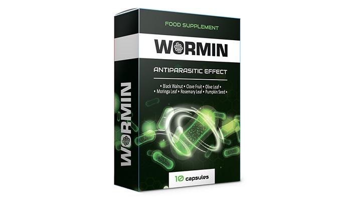 WORMIN przed pasożytami: oswobadza organizm od wszelkiego rodzaju pasożytów!