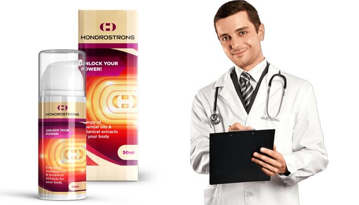 Hondrostrong: krem do walki z bólem stawów, artretyzmem i artrozą