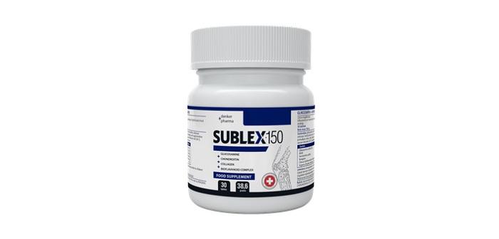 SUBLEX 150 dla stawów: ZDROWE, ELASTYCZNE, GOTOWE DO ZWIĘKSZONYCH OBCIĄŻEŃ STAWY!