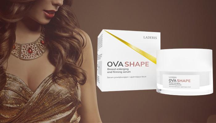Ovashape do powiększania piersi: powiększyć wielkość biustu – nawet do 3 rozmiarów