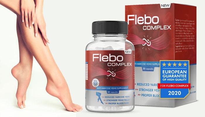 Flebo Complex przeciw żylakom: pozbądź się żylaków bezpowrotnie w 21 dni!