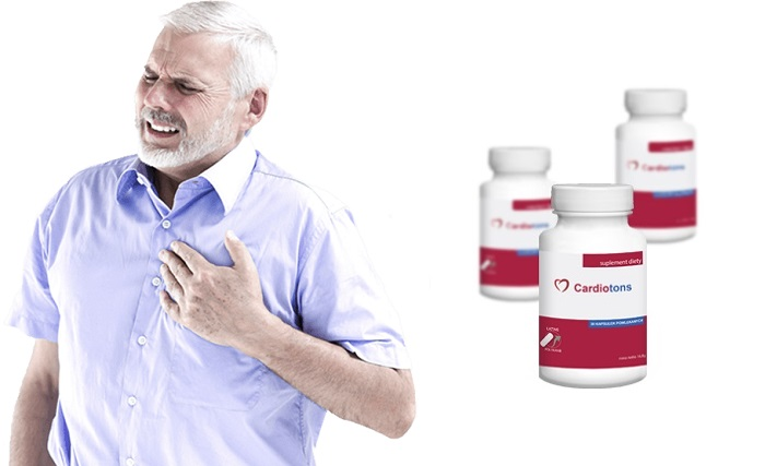 Cardiotons nadciśnienie tętnicze: ciśnienie znormalizowane po pierwszym użyciu!