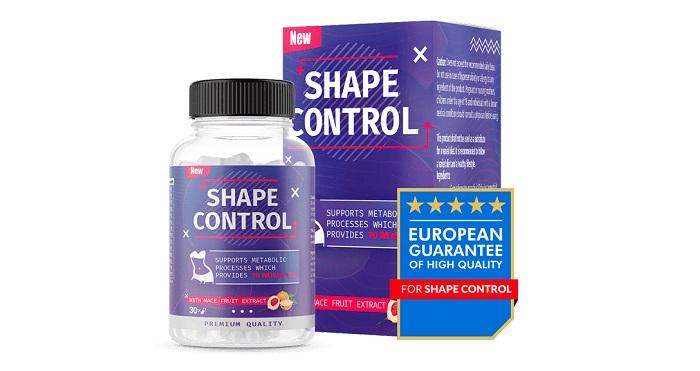 SHAPE CONTROL do utraty wagi: w zaledwie 30 dni schudniesz aż 21 kg!