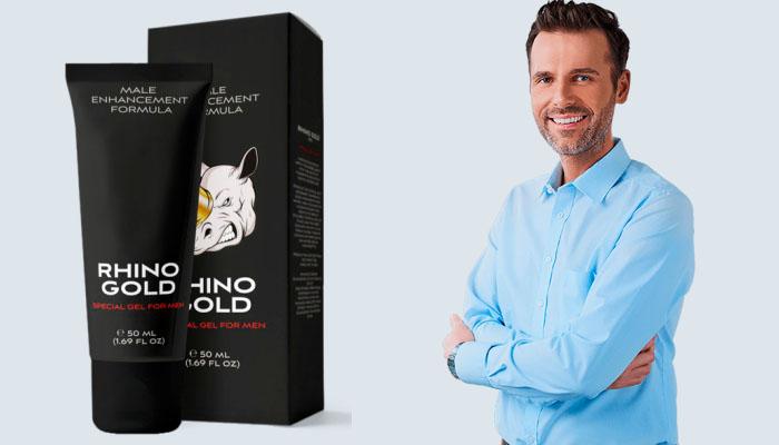 Rhino Gold Gel do powiększania penisa: rozmiar, godny uwagi