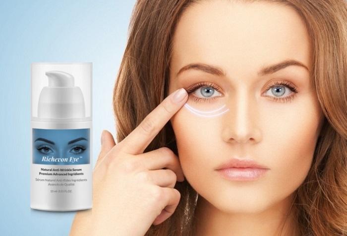 RICHEVON EYE krem przeciwzmarszczkowy pod oczy: gładka, elastyczna skóra bez zabiegów salonowych!