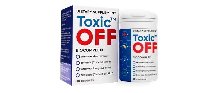 Toxic OFF przeciwko pasożytom: oczyści Twój organizm z pasożytów i uwolni się od brodawczaków i brodawek