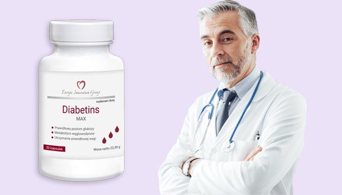 Diabetins Max przeciwko cukrzycy: eliminuje objawy i ułatwia życie dla chorych na cukrzycę