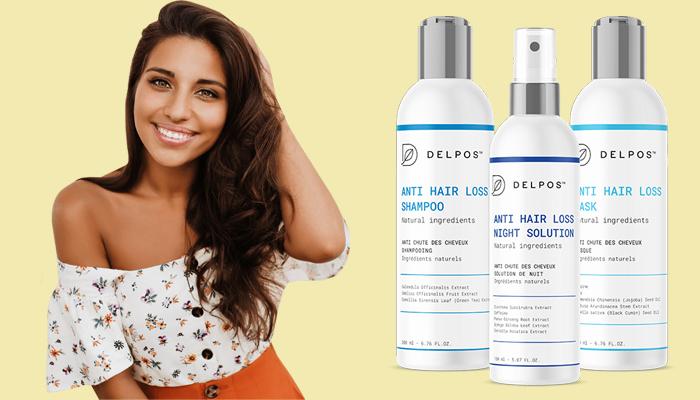 Delpos na porost włosów: zapomnij o wypadaniu włosów!