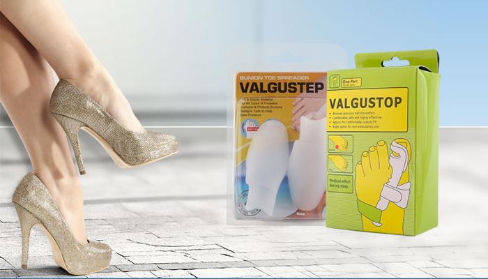 Valgus 2 in 1 profesjonalny zestaw ortopedyczny: zapomnisz o wystających kościach stóp na zawsze!