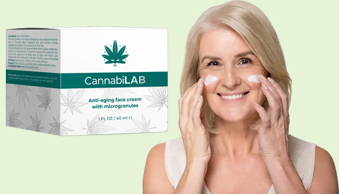 CannabiLAB przeciw zmarszczkom: krem odmładzający na poziomie komórkowym
