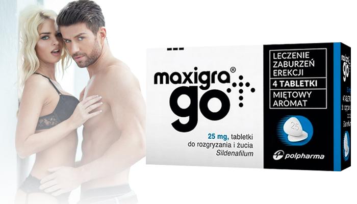 Maxigra Go na potencję: odblokuje twój potencjał seksualny