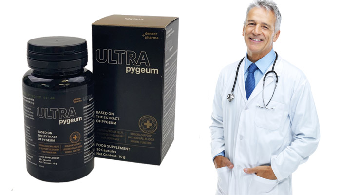 Pygeum Ultra przeciwko zapaleniu gruczołu krokowego: efektywny środek na stronie zdrowia mężczyzn!