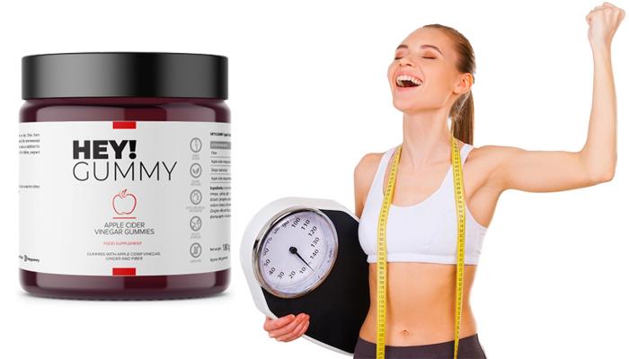 HEY!GUMMY do utraty wagi: pomogą wzmocnić odporność, zrzucić zbędne kilogramy i poprawią samopoczucie!