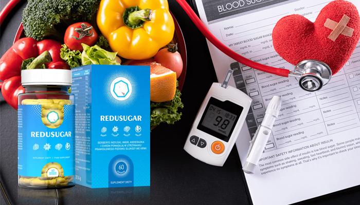 REDUSUGAR przeciw cukrzycy: zadbaj o poziom cukru we krwi