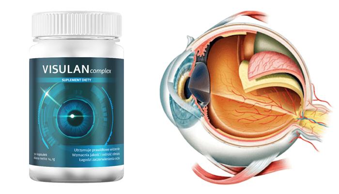 VISULAN complex przywrócić wzrok: poprawisz widzenie i ostrość wzroku o 85%