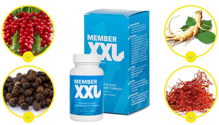 Member XXL na powiększenie penisa: naturalne powiększenie męskości