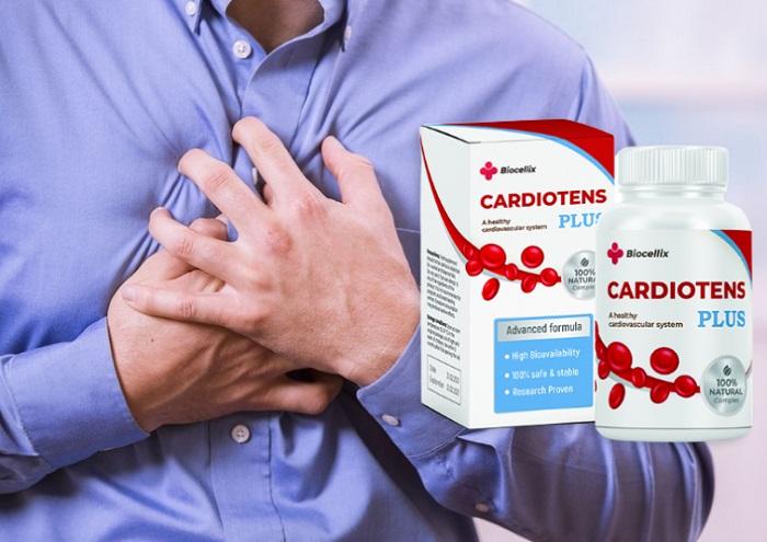 Cardiotens Plus na nadciśnienie: ciśnienie znormalizowane po pierwszym użyciu!