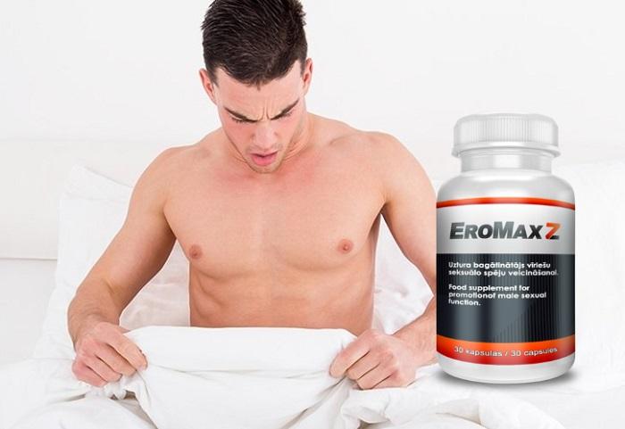 EroMax Z na potencję: zdrowa potencja do 75 lat to norma!