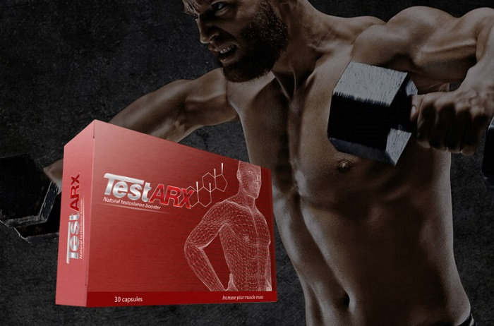 TestARX ZASTRZYK TESTOSTERONU: zwiększ masę mięśniową o ponad 80%!